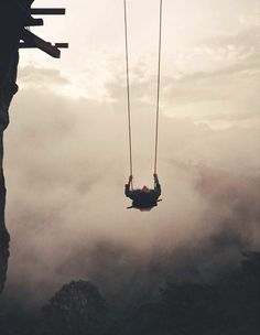 There's a swing on the edge of a cliff in Ecuador. It has no safety measures and is called the 'Swing at the End of the World' Baños Ecuador Oh The Places You'll Go, Places To Travel, Places To Visit, End Of The World, Beautiful World, Beautiful Places, Whatsapp Wallpaper, Equador, To Infinity And Beyond