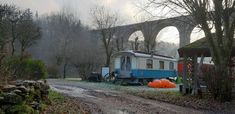 Train, Gypsy Caravan, Zug, Strollers