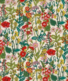 Liberty Art Fabrics Flowers Tana Lawn Cotton | Fabric | Liberty.co.uk
