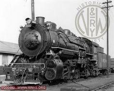 VGN Class MC 468 Left Side 3/4 View at Roanoke,VA July 1,1956