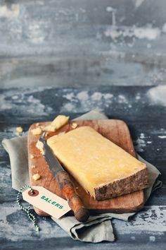 #Salers - a French semi-hard #cheese from the volcanic region in the mountains of #Auvergne, central France.