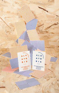 aleatoria — corporate identity on Behance