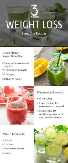 Top 12 Healthy Smoothie Recipes for Weight Loss-Are you trying to lose weight? Do you know that the smoothies are helpful for you to lose your weight? You have to know that the smoothie is the secrecy bomber of weight loss. Weight Loss Smoothie Recipes, Weight Loss Meals, Weight Loss Drinks, Healthy Weight Loss, Losing Weight, Weight Gain, Drinks To Lose Weight, Body Weight, Shakes To Lose Weight