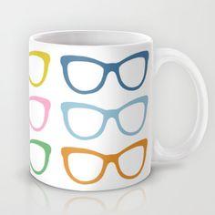Glasses #3 Mug by Pr