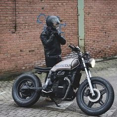 @caferacergram by CAFE RACER #caferacergram # GL500 cafe cross by @relicmotorcycles #relicmotorcycles #hondacaferacer #gl500 #cafecross #caferacer #caferacers #silverwing | More at www.facebook.com/caferacers (link in profile)