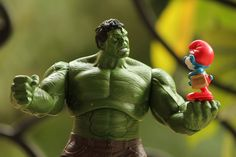 """Smashing me won't make you happy, Hulk."""