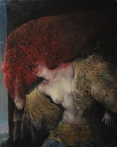 Agostino Arrivabene's Delicately Disturbing Paintings Invite You Into The Darkness Of Another World - Beautiful/Decay