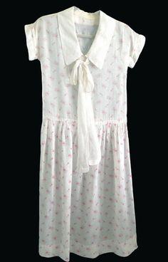 1920 Cotton Lawn Day Dress