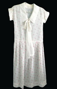 1920 Cotton Lawn Day Dress