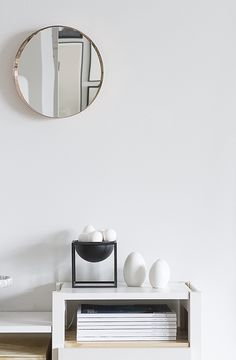 da daa / Vino mirror / by Lassen / Lundia / Easter Scandi Home, Scandinavian Interior, Morton Homes, White Table Settings, Nordic Interior Design, By Lassen, Dream Decor, Living Room Inspiration, Home Decor Styles