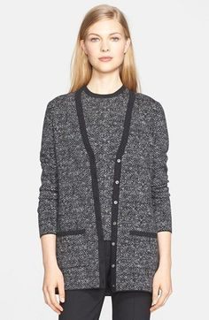 Michael Kors Merino Wool Tweed Cardigan available at #Nordstrom
