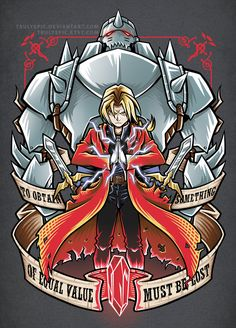 FaceBook Tumblr Twitter Instagram I'm on a huge anime kick lately. FullMetal Alchemist has been my latest and I really enjoyed the first anime (except that endin...