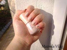 *Mazsola Világ*: Jól fedő nude lakk   Essence Nude Glam 04