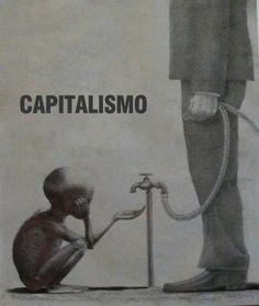 El capitalismo aumenta las desigualdades sociales, haciendo a los ricos más ricos y a los pobres más pobres.  El actual modelo económico se ha agotado. El egoísmo del hombre ha crecido exponencialmente y busca cada vez más posesiones a costa de los más débiles...