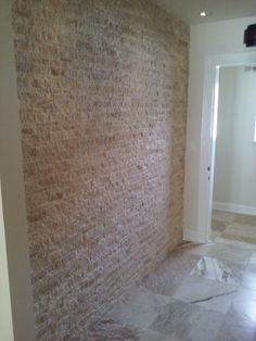 Stacked stone accent walls add artistic touch to any home