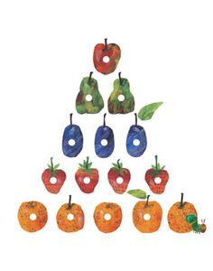The Very Hungry Caterpillar Fruit Pyramid on StarEditions.com - Wholesale Prints