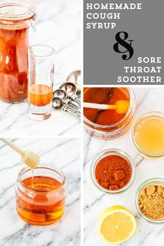 Looking for a natural cough remedy? This homemade cough syrup recipe is a great natural remedy to have on hand to soothe sore throats and stop lingering coughs this flu and cold season. Sore Throat And Cough, Sore Throat Remedies, Sooth Sore Throat, Home Remedy For Cough, Cold Home Remedies, Cold And Cough Remedies, Natural Sleep Remedies, Natural Cures, Natural Health