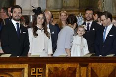 The banns of marriage for Prince Carl Philip and Sofia Hellqvist 17/05/2015