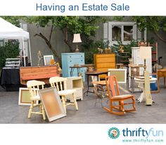 This is a guide about having an estate sale. Hosting an estate sale is, unfortunately, something most of us will have to do following a death of a loved one. Whether you are planning it by yourself or hiring someone else to plan it for you, it can be a daunting task.