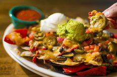 Ultimate Ground Beef Nachos from The Ultimate Tailgate Party Menu