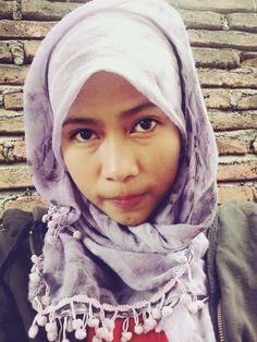 #hijab #me #selfie #purple