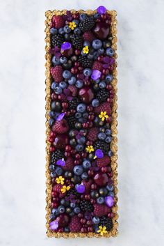 Breakfast Berry Granola Tart by Maja Vase