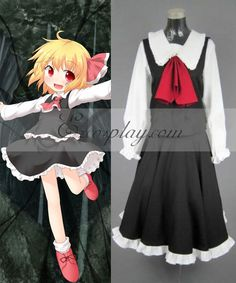 Touhou Project Rumia cosplay costume #Everyone Can Cosplay! Cosplay costumes #Anime Cosplay Accessories #Cosplay Wigs #Anime Cosplay masks #Anime Cosplay makeup #Sexy costumes #Cosplay Costumes for Sale #Cosplay Costume Stores #Naruto Cosplay Costume #Final Fantasy Cosplay #buy cosplay #video game costumes #naruto costumes #halloween costumes #bleach costumes #anime