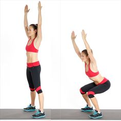 Shake up your squat routine with the pulsing plié  squat , which targets glutes and inner thighs.