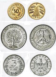 24 Besten Münzen Coins Bilder Auf Pinterest Coins Germany Und