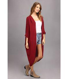 Brigitte Bailey Amy Dolman Cardigan - feel like little red riding hood