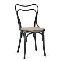 "Originally designed for one of Loos' cafés, this chair is light in weight, easy to sit in while drinking a coffee, and easily duplicable. ""E..."