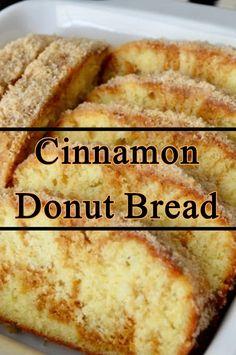 Cinnamon Donut Bread - Food & Recipes