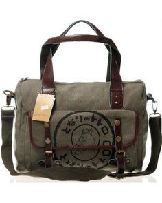 8b44bf9823a7 Studio Ghibli My Neighbor Totoro Canvas Leather Shoulder bag Handbag--  Brown  Amazon.co.uk  Clothing