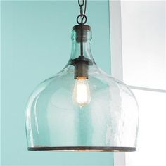 Oversized Glass Pendant Light Home Pinterest Glass Pendants - Large glass pendant lights for kitchen