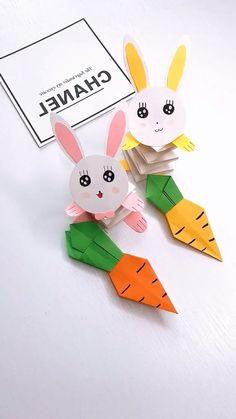 diy videos paper 16 Simply Creative Paper Animal Crafts For Kids Paper Animal Crafts, Cool Paper Crafts, Animal Crafts For Kids, Paper Animals, Craft Activities For Kids, Art For Kids, Easter Crafts, Holiday Crafts, Origami Paper Art