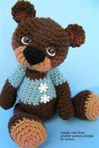 free crochet bear patterns Yahoo Search