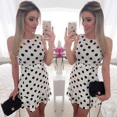 """4,202 Likes, 104 Comments - Georgia Americano (@ge_americano) on Instagram: """"  3, 2, 1. Esse vestido é a minha cara!!! Apaixonada @musebrasil! Vestido Poá com…"""""""