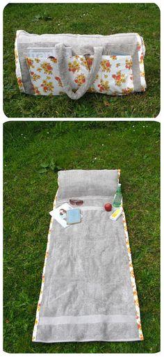 repurposed towel for summer