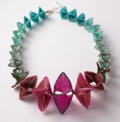 Handbeaded Necklace, Necklaces, Jewelry, Home - The Museum Shop of The Art Institute of Chicago