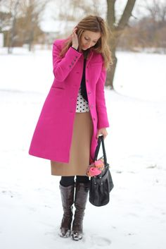Mission Coats do not need to be dark. Say yes to COLOR!