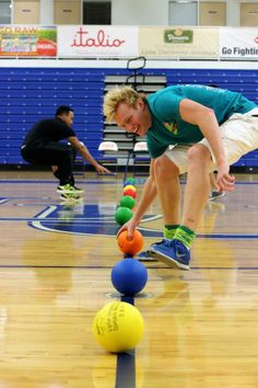 Students participated in the Excalibur Cup! Guess this event? If you couldn't figure out, it was the Dodgeball Tournament.