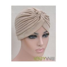 TURBAN VINTAGE STYLE,Head Wrap,Headwrap,Hat,Bandana,Scarf,Hair Loss,40s 50s,NEW found on Polyvore featuring polyvore, women's fashion and accessories