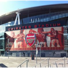 """I play club soccer for arsenal and when I saw this my reaction was glorious I said """"hey that's my team"""" Best Football Team, Football Stadiums, Football Stuff, Arsenal Players, Arsenal Fc, Sports Stadium, Stadium Tour, Acoustic Barrier, Arsenal Stadium"""