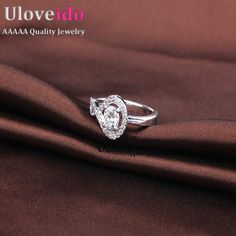 Find More Rings Information about 2016 Engagement Rings For Women Silver Jewelry Zircon Finger Ring Female Vintage Ring Aneis Femininos Bijoux Rhinestones WX022,High Quality jewelry bridesmaid,China jewelry bronze Suppliers, Cheap jewelry crown from D&C Fashion Jewelry Buy to Get a Free Gift on Aliexpress.com