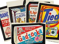 Wacky Packages 1973 Topps Trading Cards