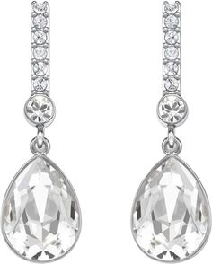 06f0bf560 Swarovski Jewellery Attention: pierced earrings CRY/RHS 5036781 £44  Occasion Spéciale, Special