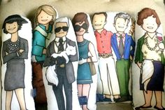 Fun handmade pop culture pillows featuring your favorite icons