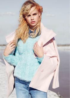 This pink coat? Coat, Pink, Style, Fashion, Moda, Fashion Styles, Hot Pink, Pink Hair, Fashion Illustrations