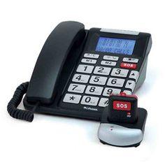 SOS Emergency Telephone with Two-Way Speech Pendant