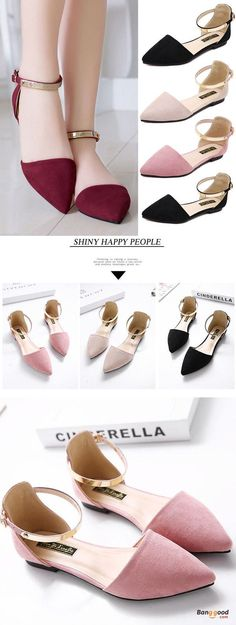 US$21.86 + Free shipping. Size(US): 5~11. Color: Black, Beige, Pink. Upper Material: Suede. Love work and formal style! Flat Shoes, Shoes for Women, Outdoor Shoes, Women's Fashion, Women's Shoes, Summer Outfits, Work Outfit.